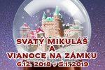 Svätý Mikuláš a Vianoce na zámku