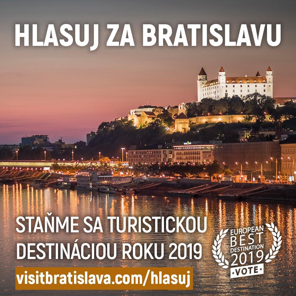 Hlasujme za Bratislavu bola nominovaná