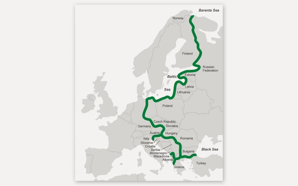 Zelený pás v Európe