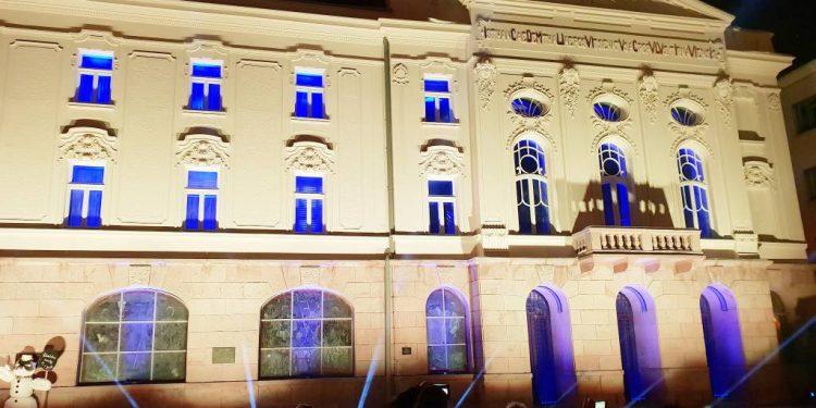 Obnovená fasáda Divadla Jána Palárika v Trnave