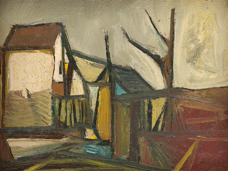 Vincent Hložník v Oravskej galérii v Dolnom Kubíne