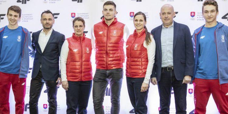 Športová kolekcia oblečenia pre olympionikov