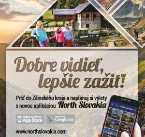 NORTH SLOVAKIA nová mobilná aplikácia