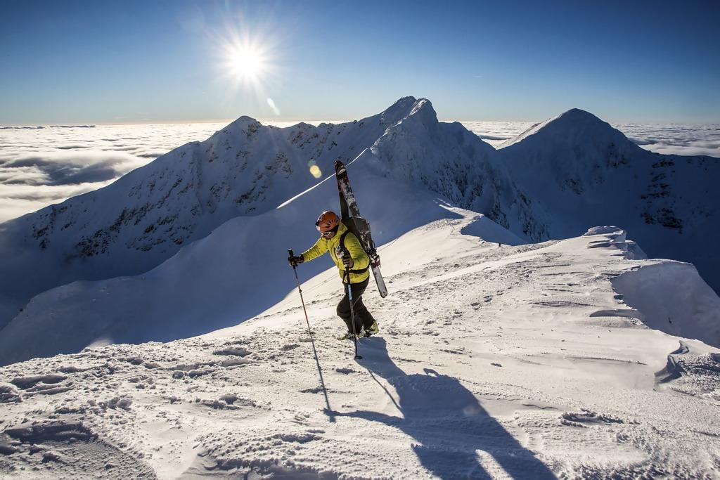 Najkrajšie miesta na skialpinizmus