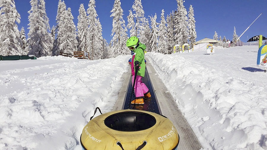 Jarné prázdniny s deťmi, Bachledka Snowtubingová dráha