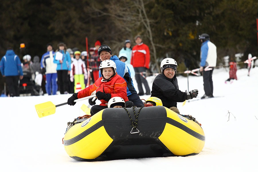 Jarné prázdniny s deťmi, Bachledka Snowrafting