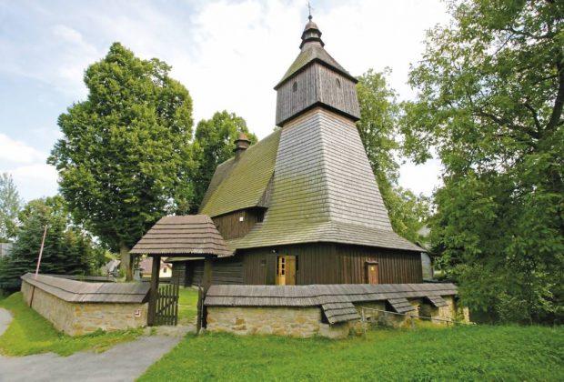 Drevený kostol v Hervartove