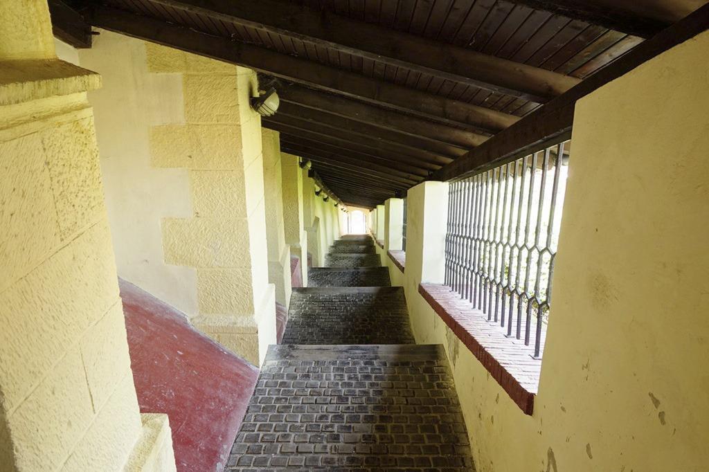 Farské schody, Trenčiansky hrad