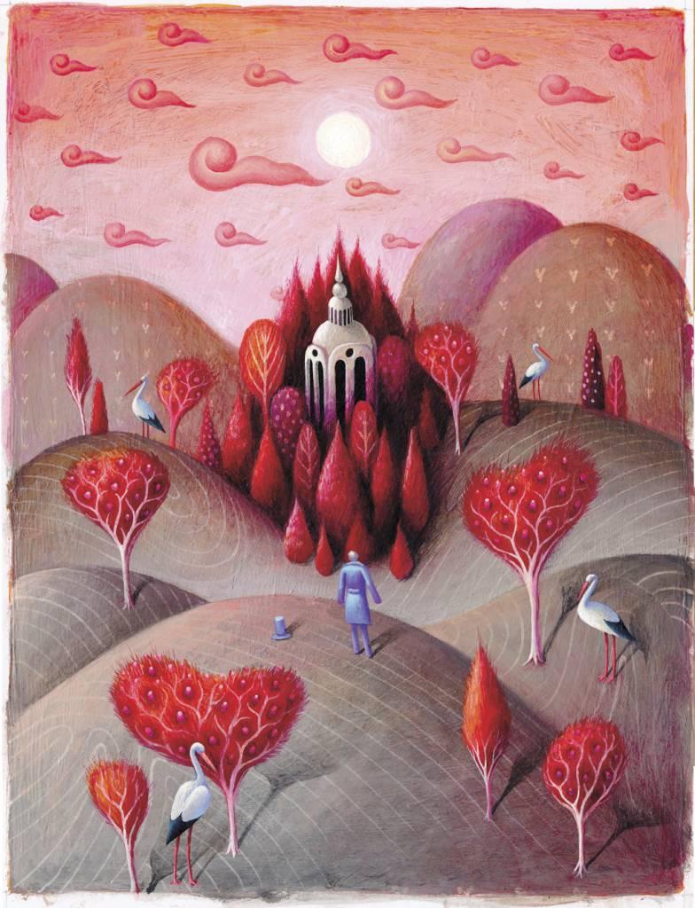 Výlet do Danubiany a detského sveta ilustrácií, Vladimír Král