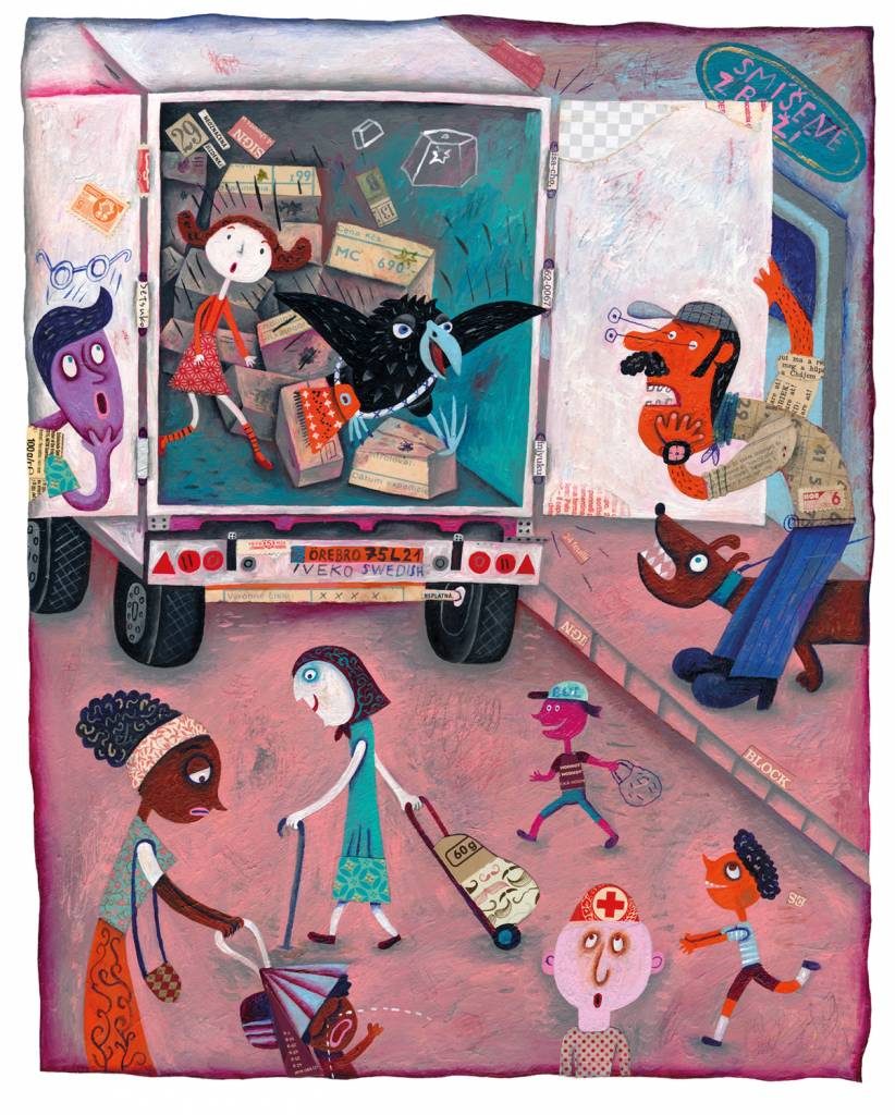 Výlet do Danubiany a detského sveta ilustrácií, Martina Matlovičová