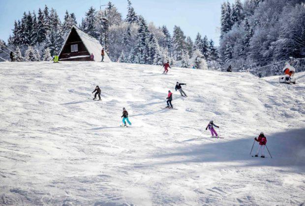 Skibus 4 x 4 na Horehroní, Ski Centrum Mýto