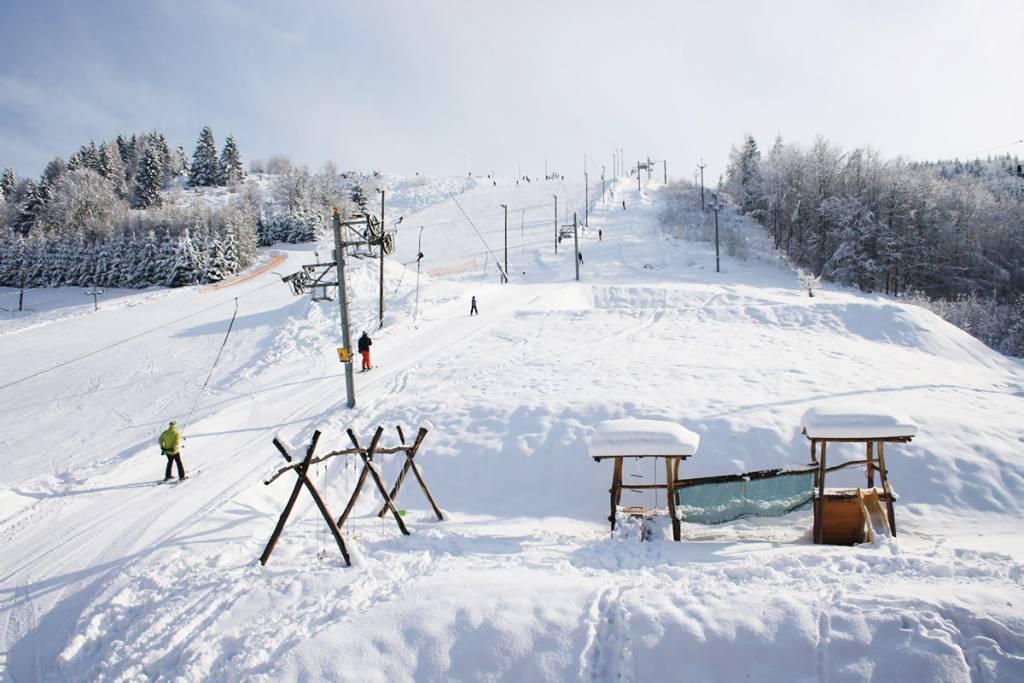 Skibus 4 x 4 na Horehroní, Ski Centrum Košútka