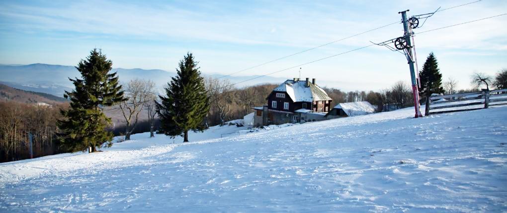 Rodinná lyžovačka na Veľkej Javorine, Veľká Javorina
