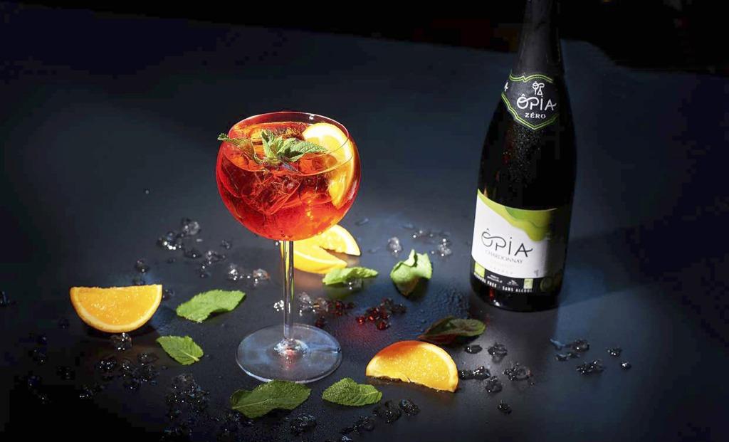 Oslavujme s nealko vínom, Nealko víno