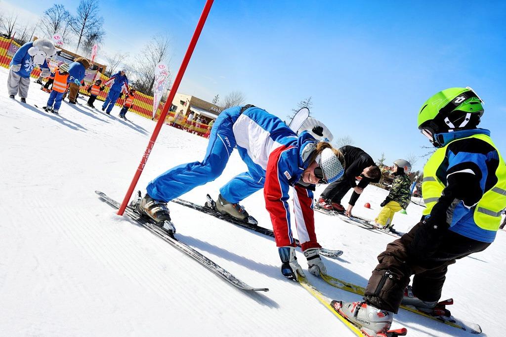 bezpečne lyžovať