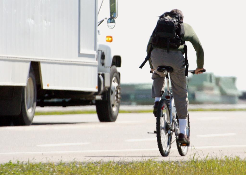 Do práce na bicykli