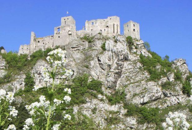 na hrade Strečno