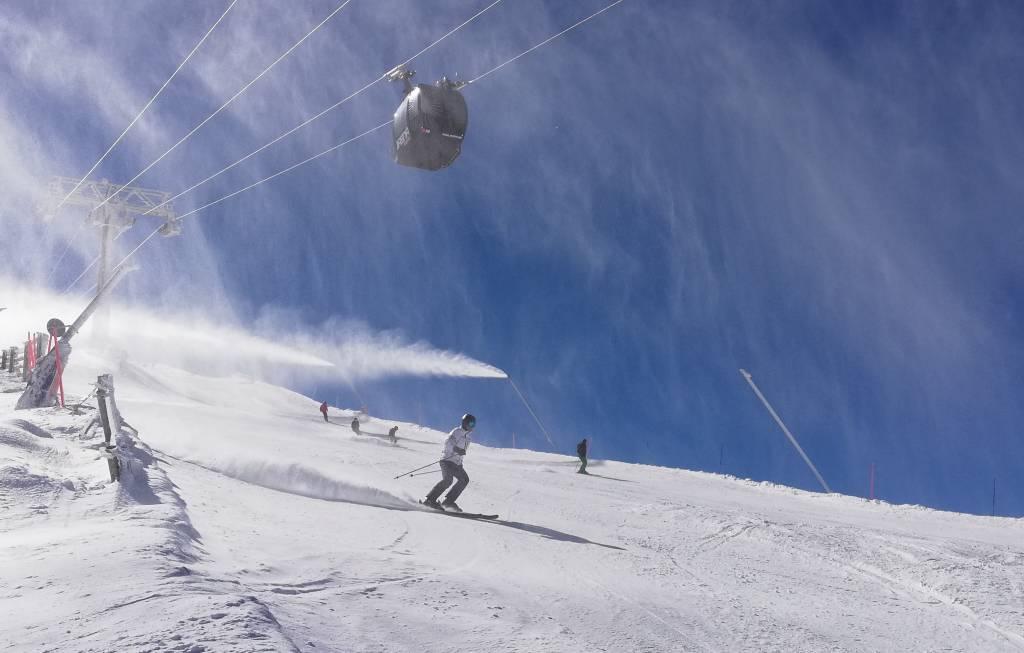 veľkonočnú lyžovačku