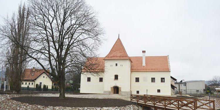 89897072b Kaštieľ vodný hrad v Partizánskom, národná pamiatka, Šimonovany