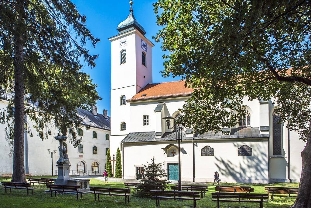 pútnické miesta, Marianka Kostol Panny Márie