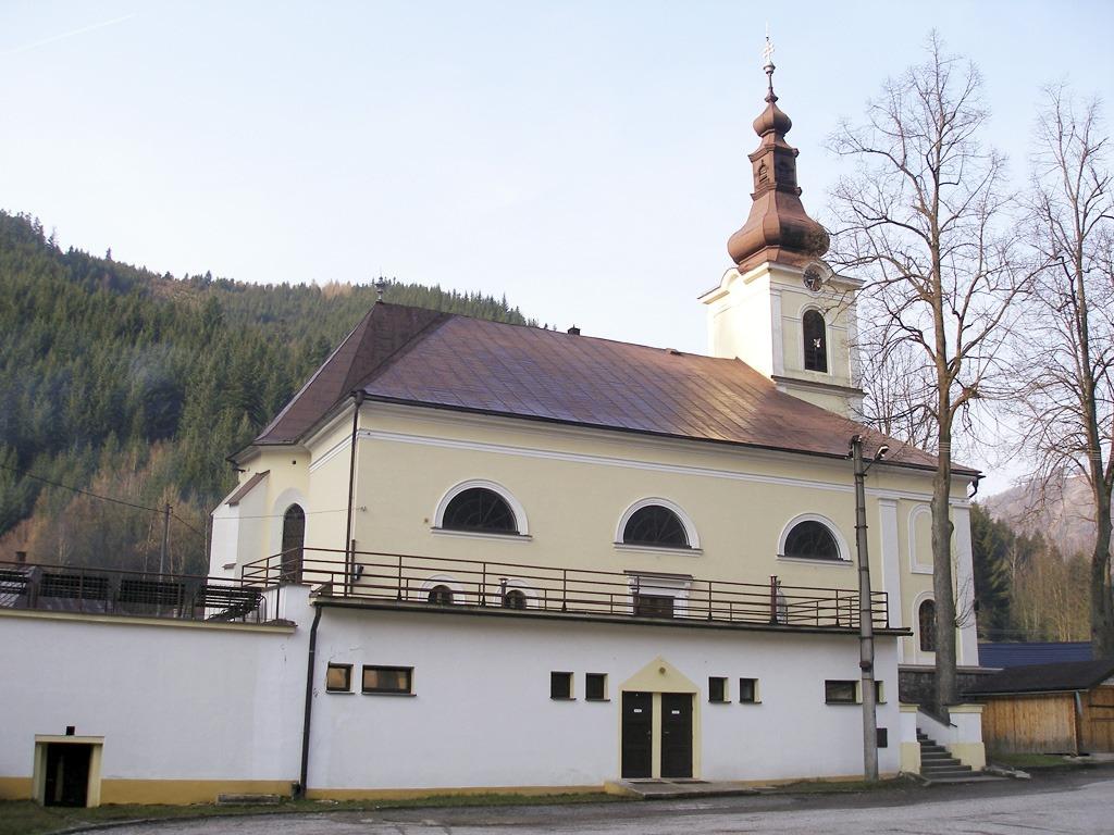 Staré Hory - Kostol Panny Márie