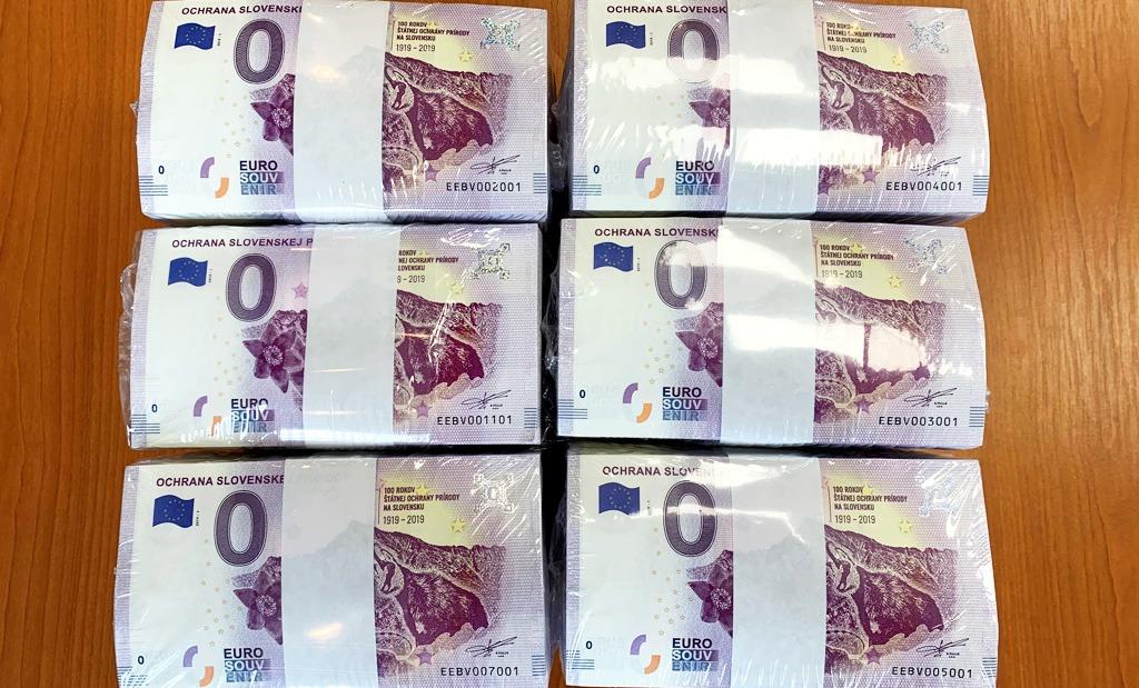 ochrany prírody, Euro Bankovka