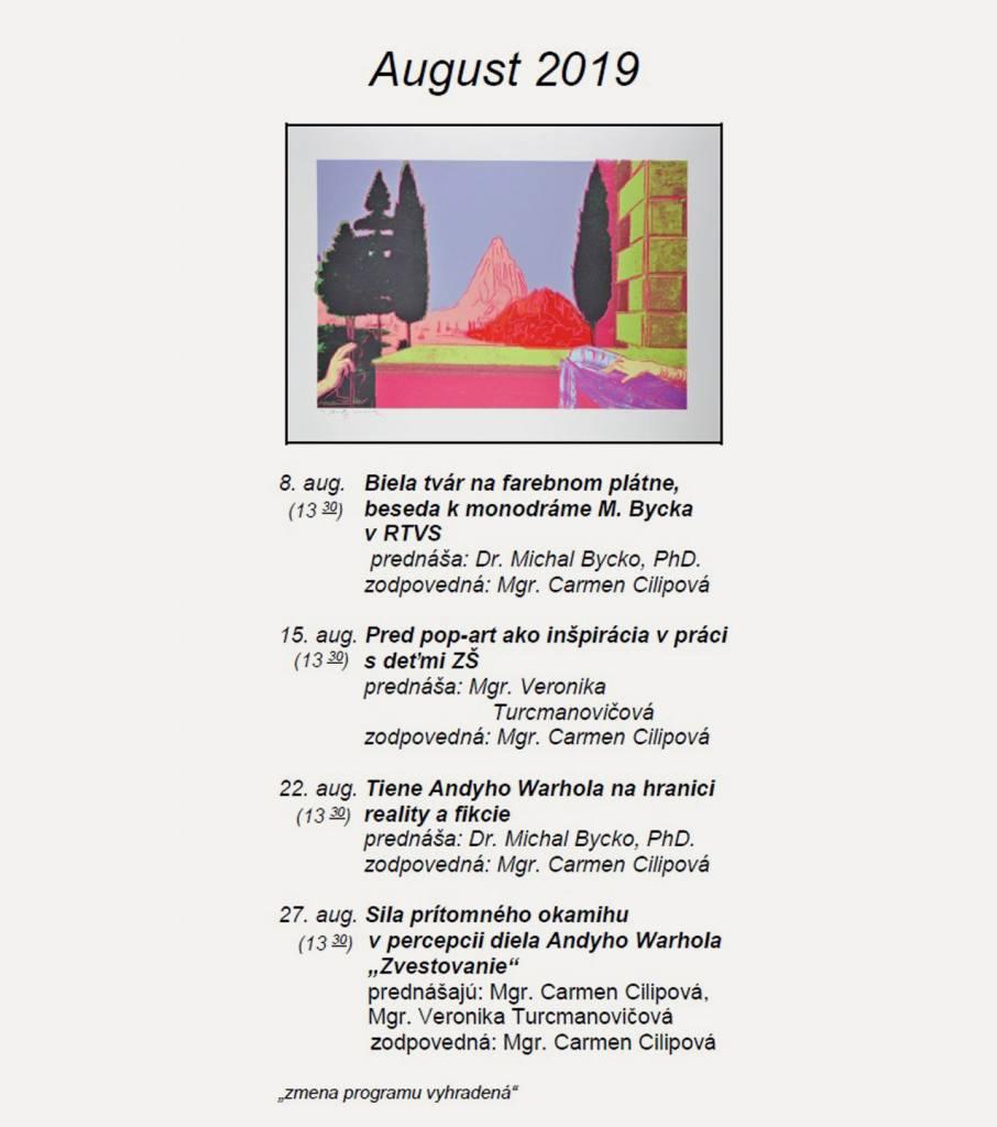 popartu, August Warhol