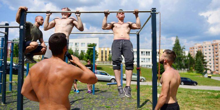 Brezno Street Workout