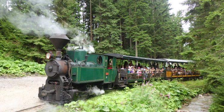 Kysucká Lesná úvraťová železnica