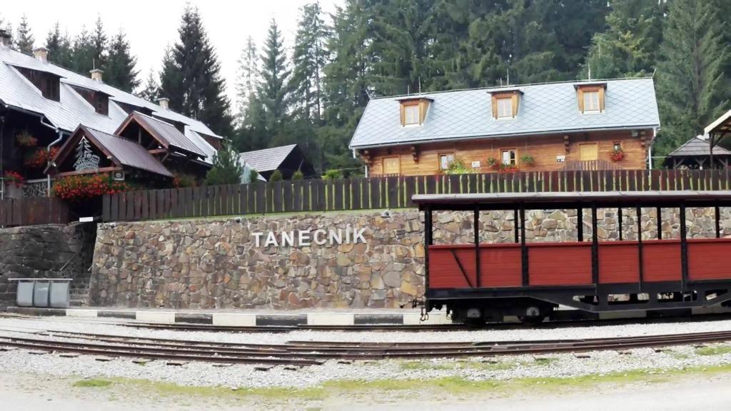 Oravská Lesná železnica Tanečník,Sedlo Beskyd