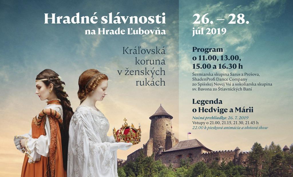 Stredoveké hradné slávnosti na hrade Ľubovňa