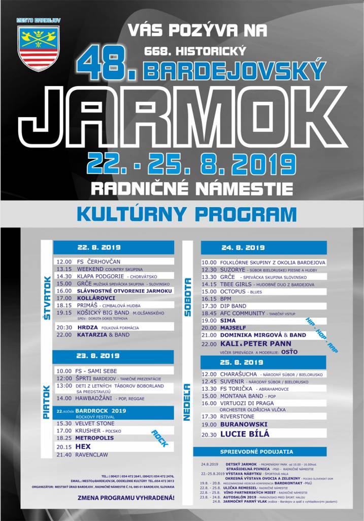48 Bardejovsky Jarmok 2019