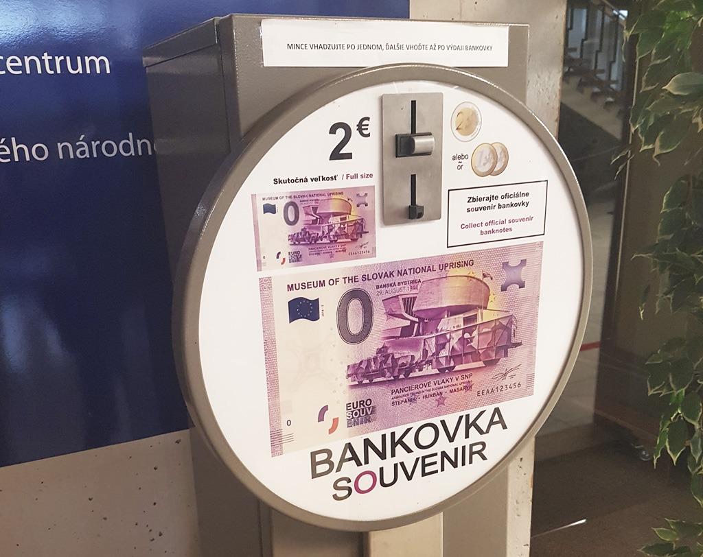 Bankovka Souvenir