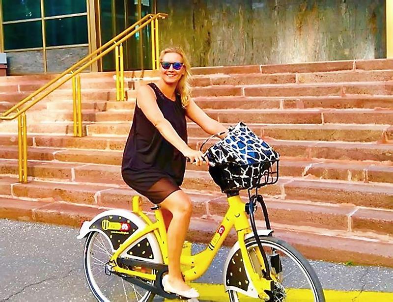 Do prace na bicykli