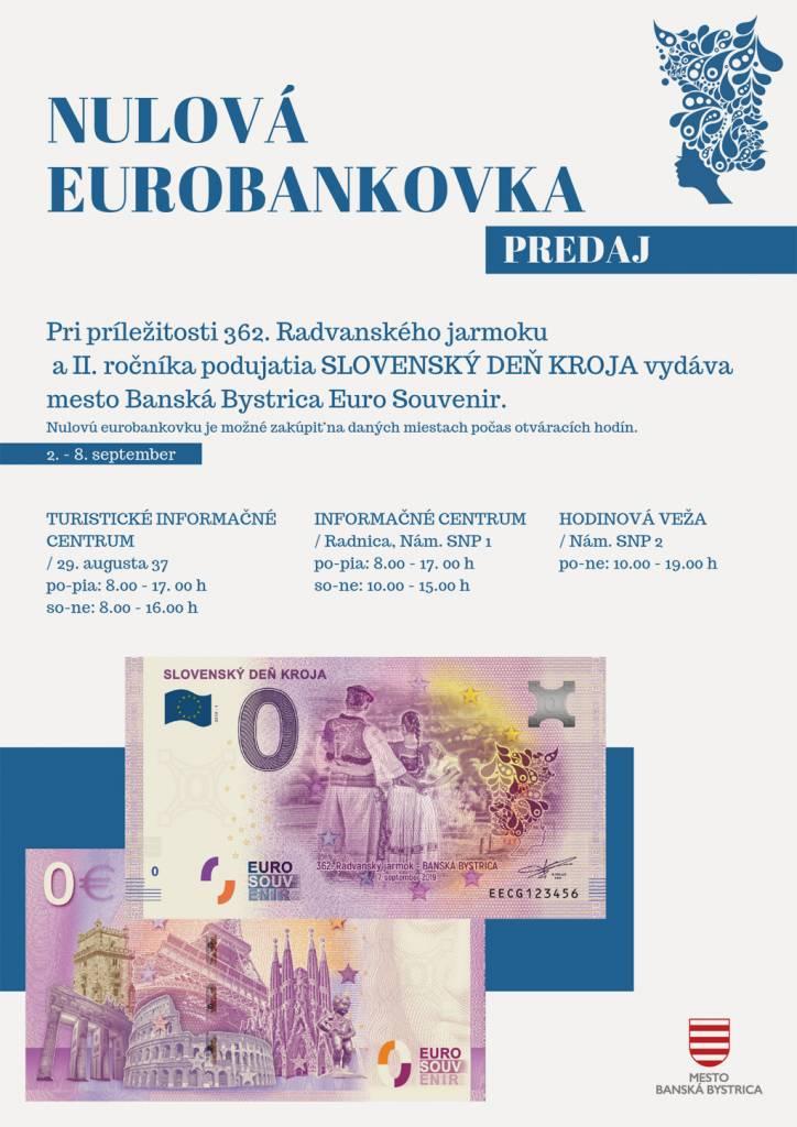 Nulová eurobankovka