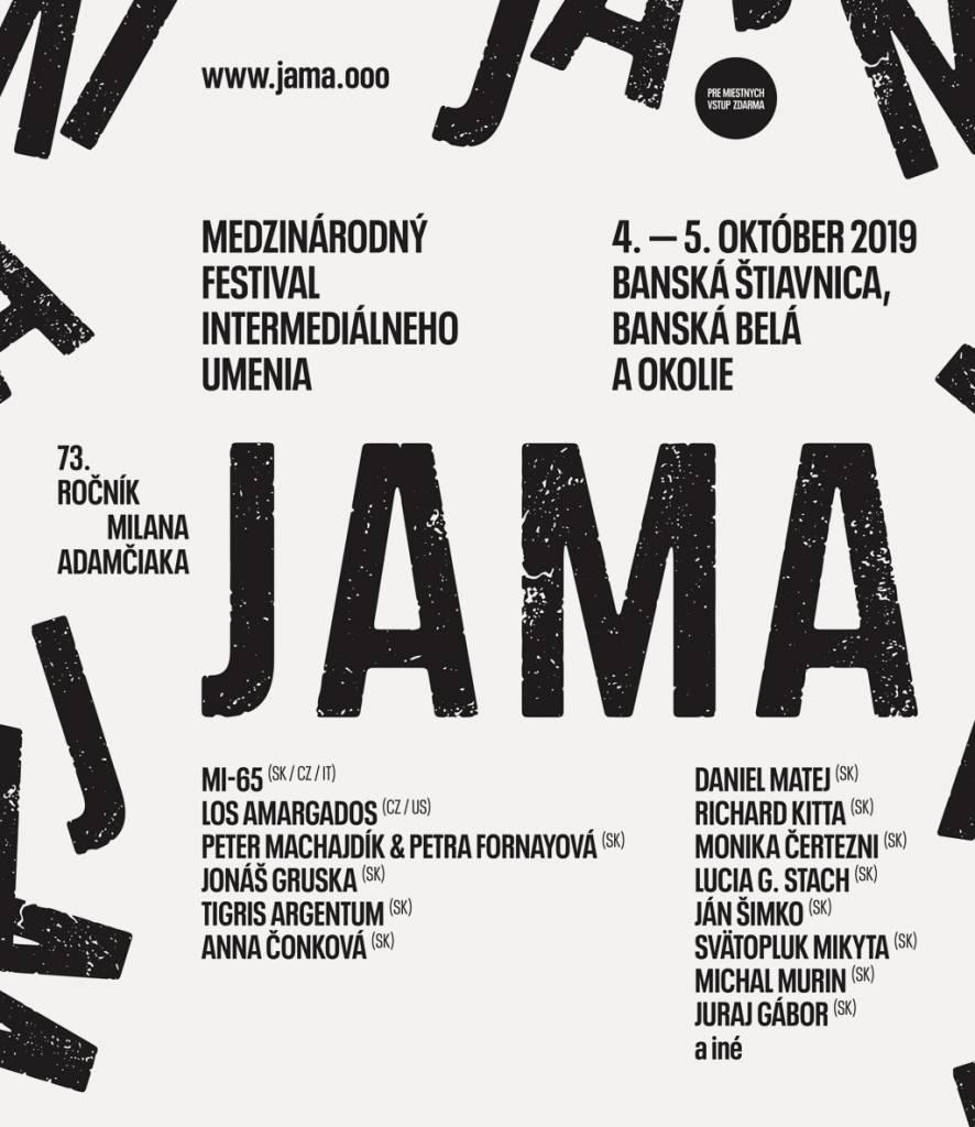 Festival JAMA 2019 plagat