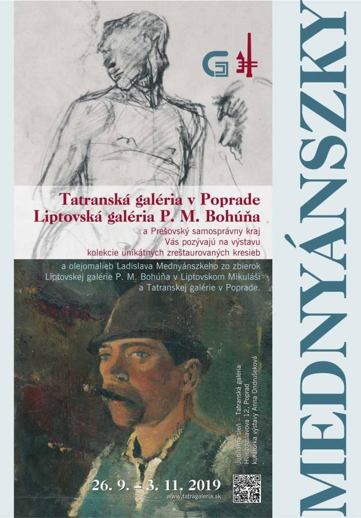 Ladislav Mednyánszky 2019 Plagat