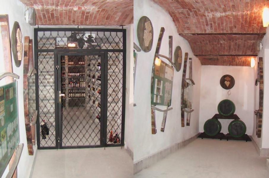 Múzeum v Trebišove, vinna pivnica
