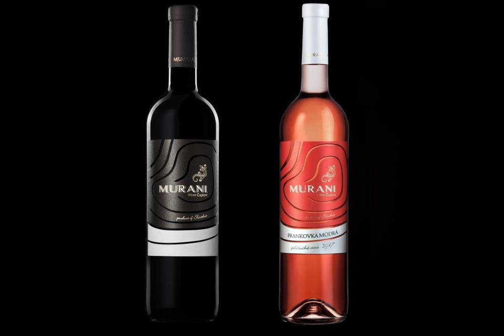 Murani víno Čajkov
