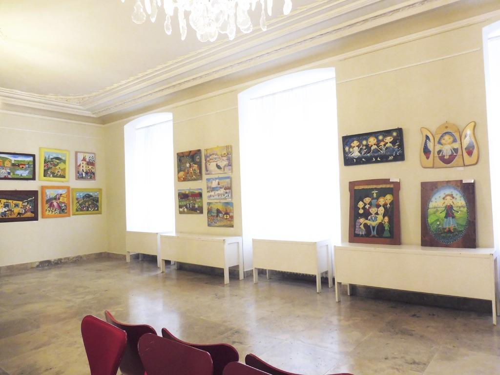 Výstava v primaciálnom paláci v Justiho sieni