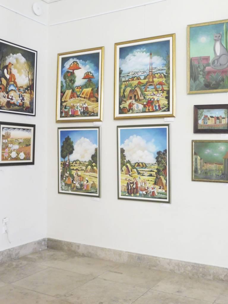 Výstava v primaciálnom paláci vJustiho sieni