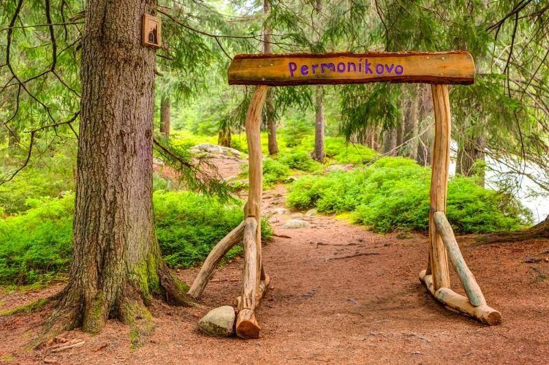 Čarovná lesná cestička, Podbanské, jesenné prázdniny