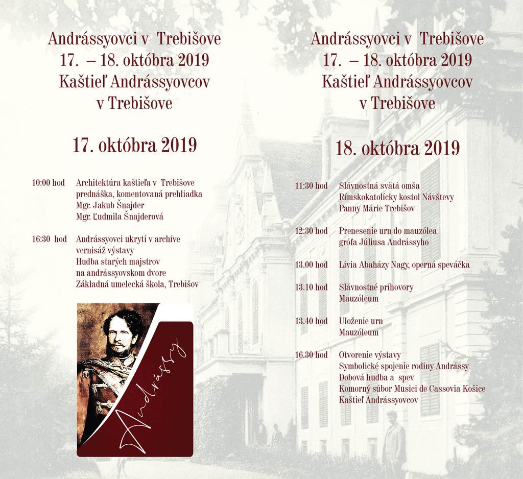 Symbolické spojenie rodiny Andrássyovcov v Trebišove