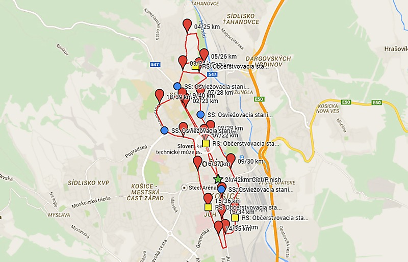 Mapa Trate MMM