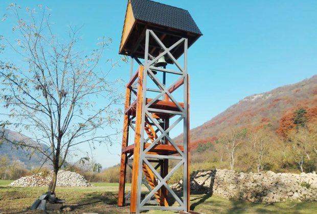 vyhliadkovú vežu v Gombaseku