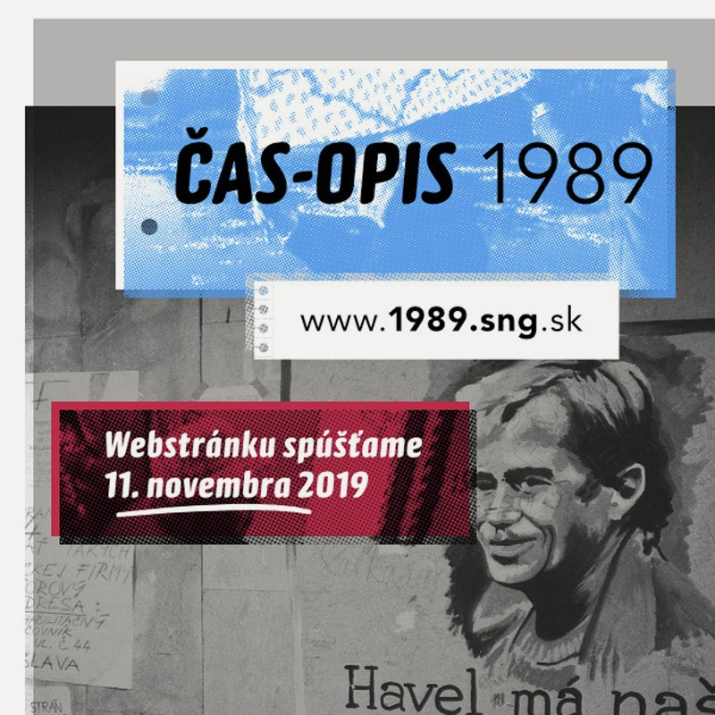 ČAS-OPIS 1989 digitálny projekt SNG