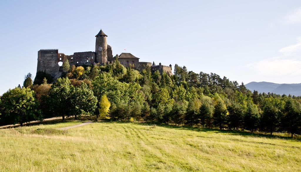 Carovne Vianoce hrad Stara Lubovna
