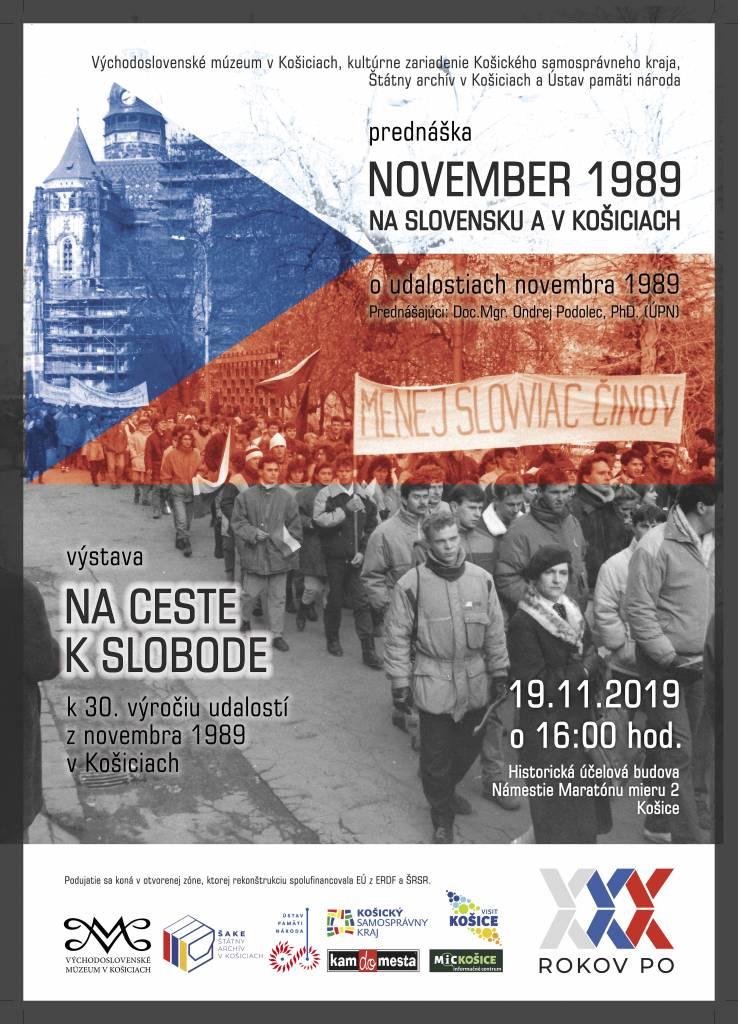 30. výročie Nežnej revolúcie, Kosice NOVEMBER 1989