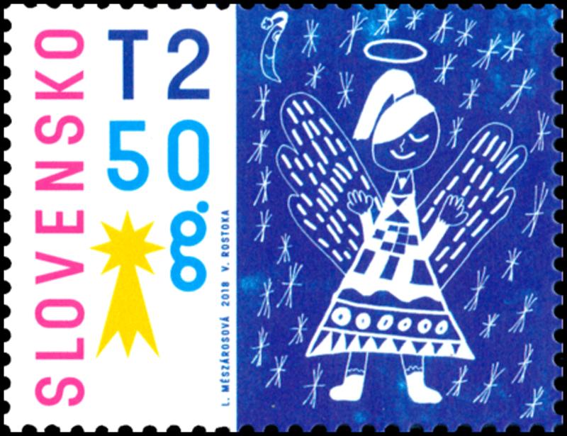 Vianočná pošta Ježiškovi, vianocna znamka