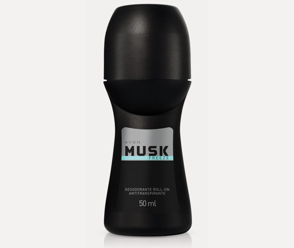 AVON, Gulockovy Deo Antiperspirant Musk Freeze